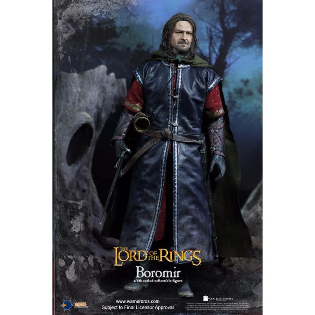 LOTR017H - Heroes of Middle-Earth - Boromir (Rooted Hair)