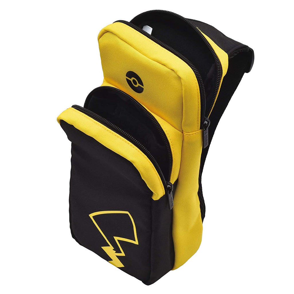 HORI NSW Shoulder Pouch Pikachu Black/Yellow (NSW-171A)
