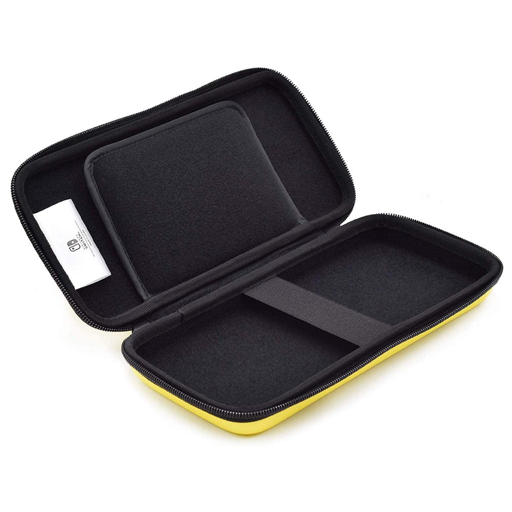 HORI NSW Emboss Case Pikachu Yellow (NSW-217U)