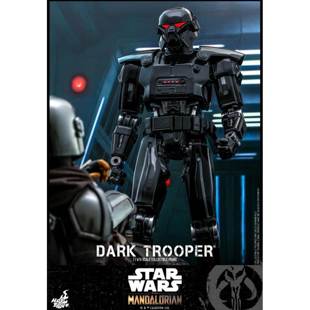 TMS032 - Star Wars The Mandalorian - 1/6th scale Dark Trooper