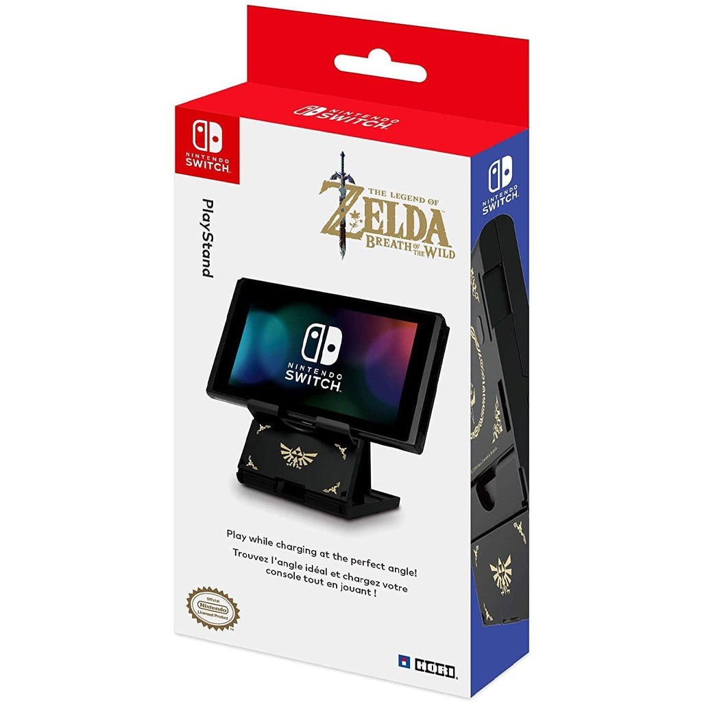 HORI NSW PlayStand The Legend of Zelda BoTW Edition (NSW-085U)
