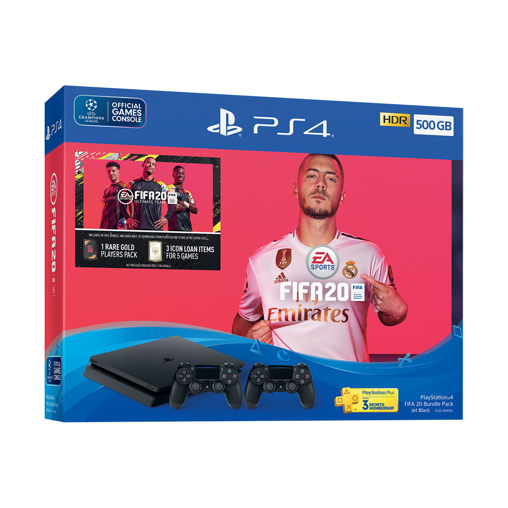 PlayStation 4 FIFA 20 Bundle Pack (500GB)