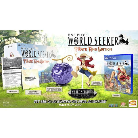 PS4 One Piece: World Seeker [Collector's Edition]
