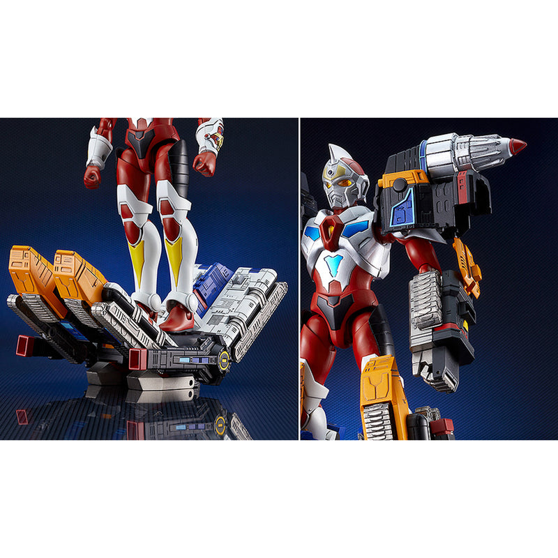 The Gattai Thunder Gridman Figurine -Tokusatsu Edition-