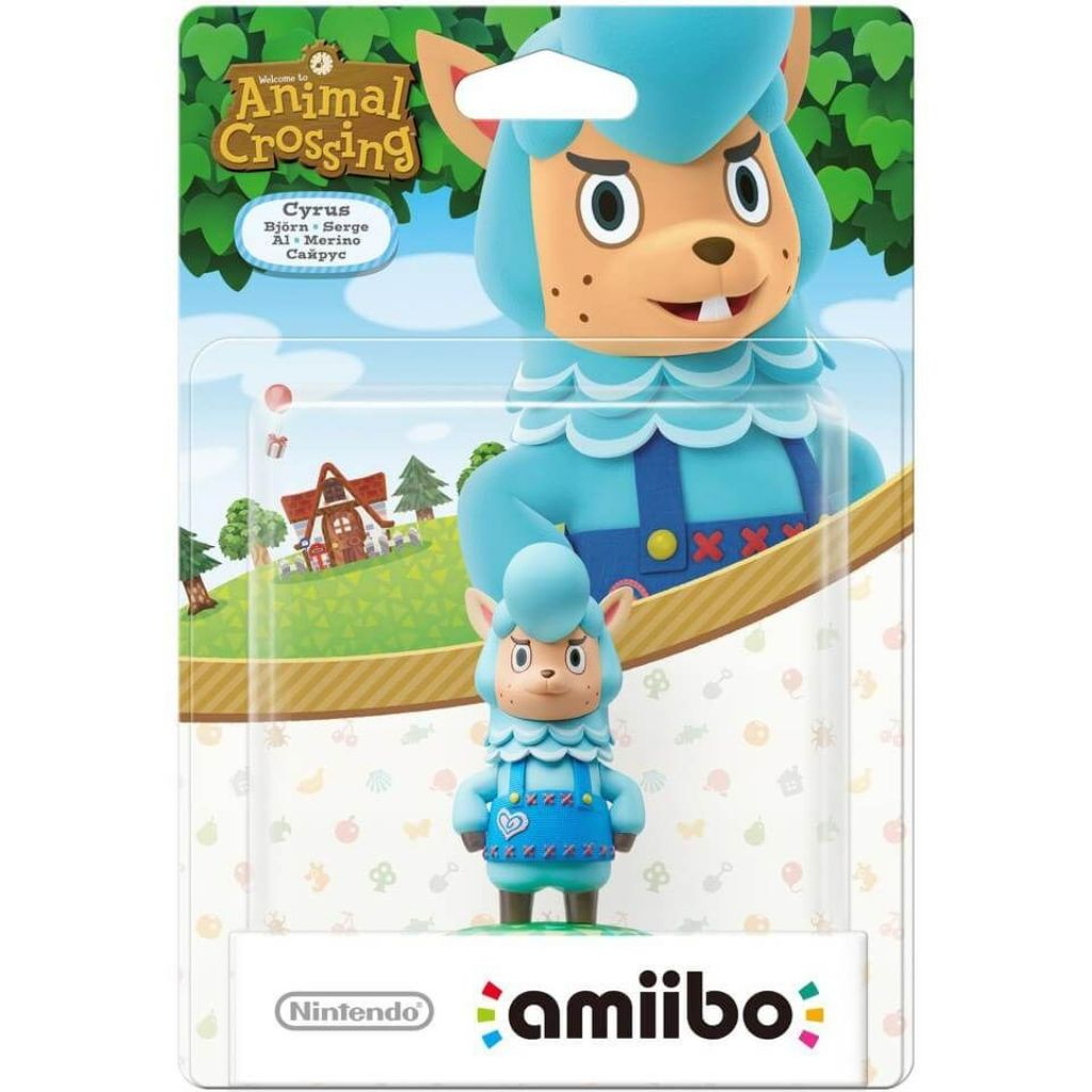 Nintendo amiibo Cyrus - Animal Crossing Series