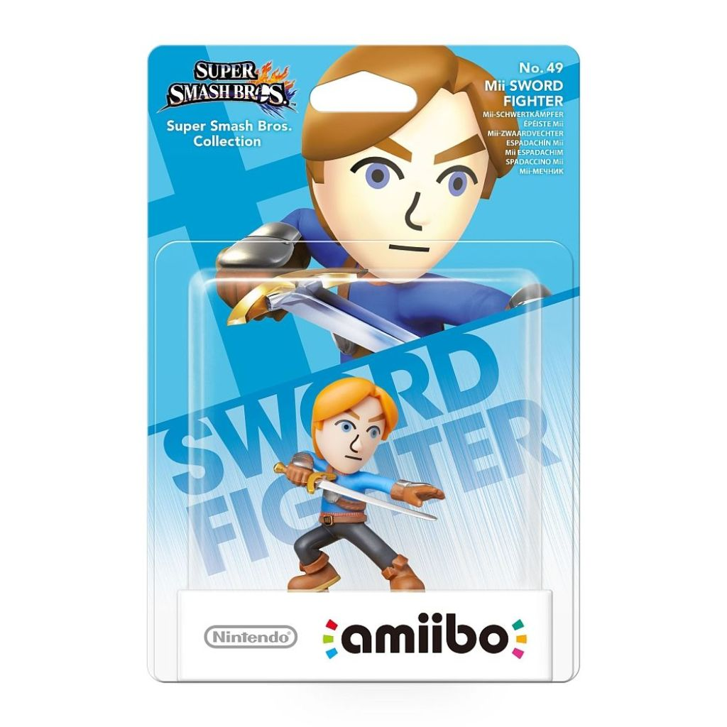 Nintendo amiibo Mii Fighter - Super Smash Series