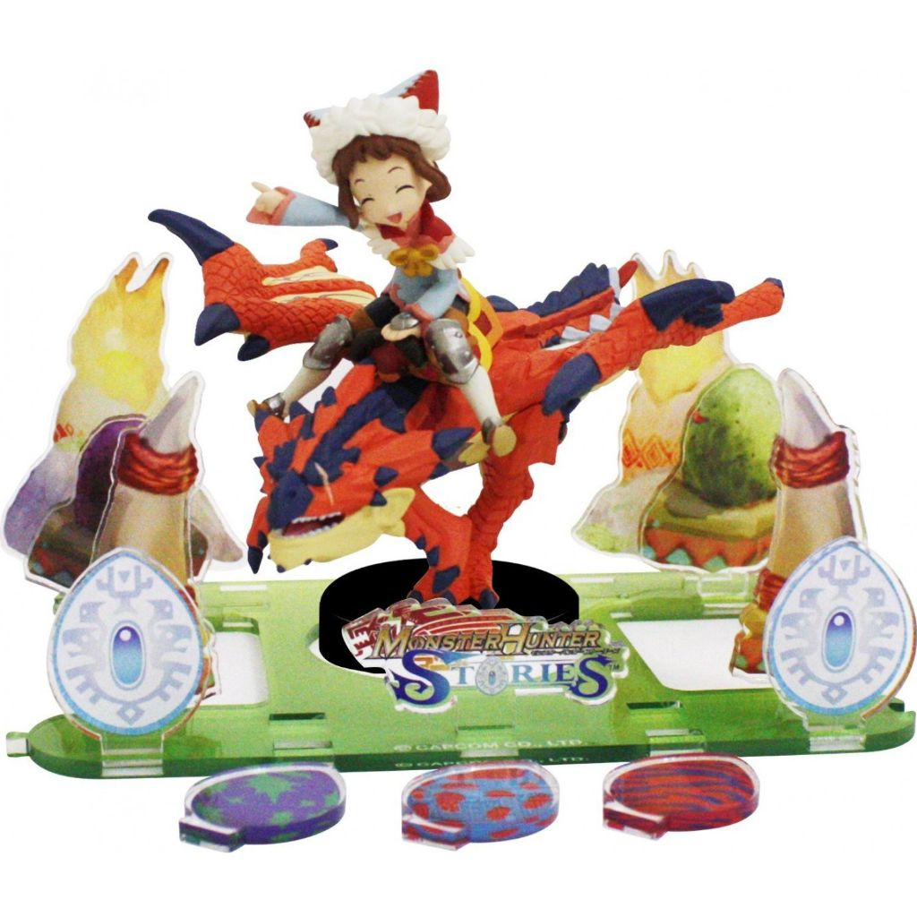 Nintendo amiibo Monster Hunter Stories Diorama Kit