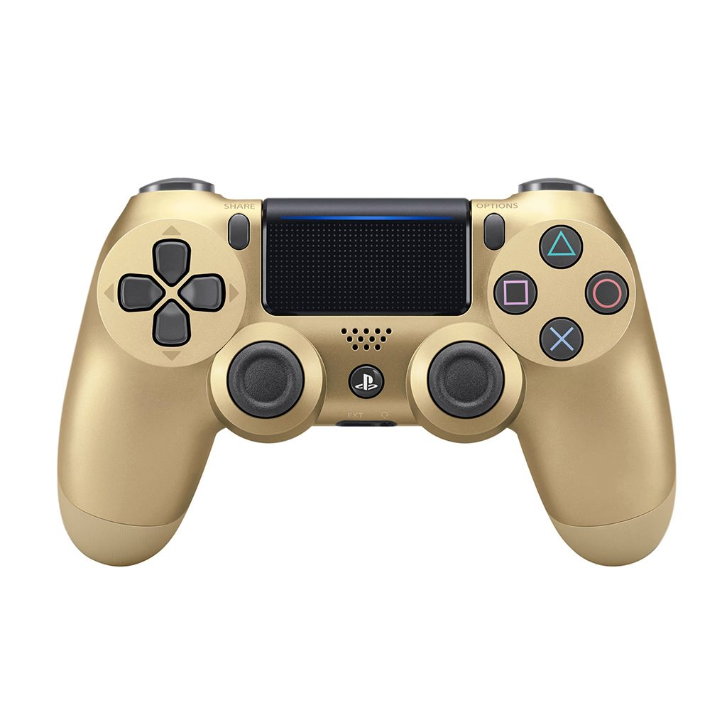PS4 New DS4 Gold Wireless Controller *Asia