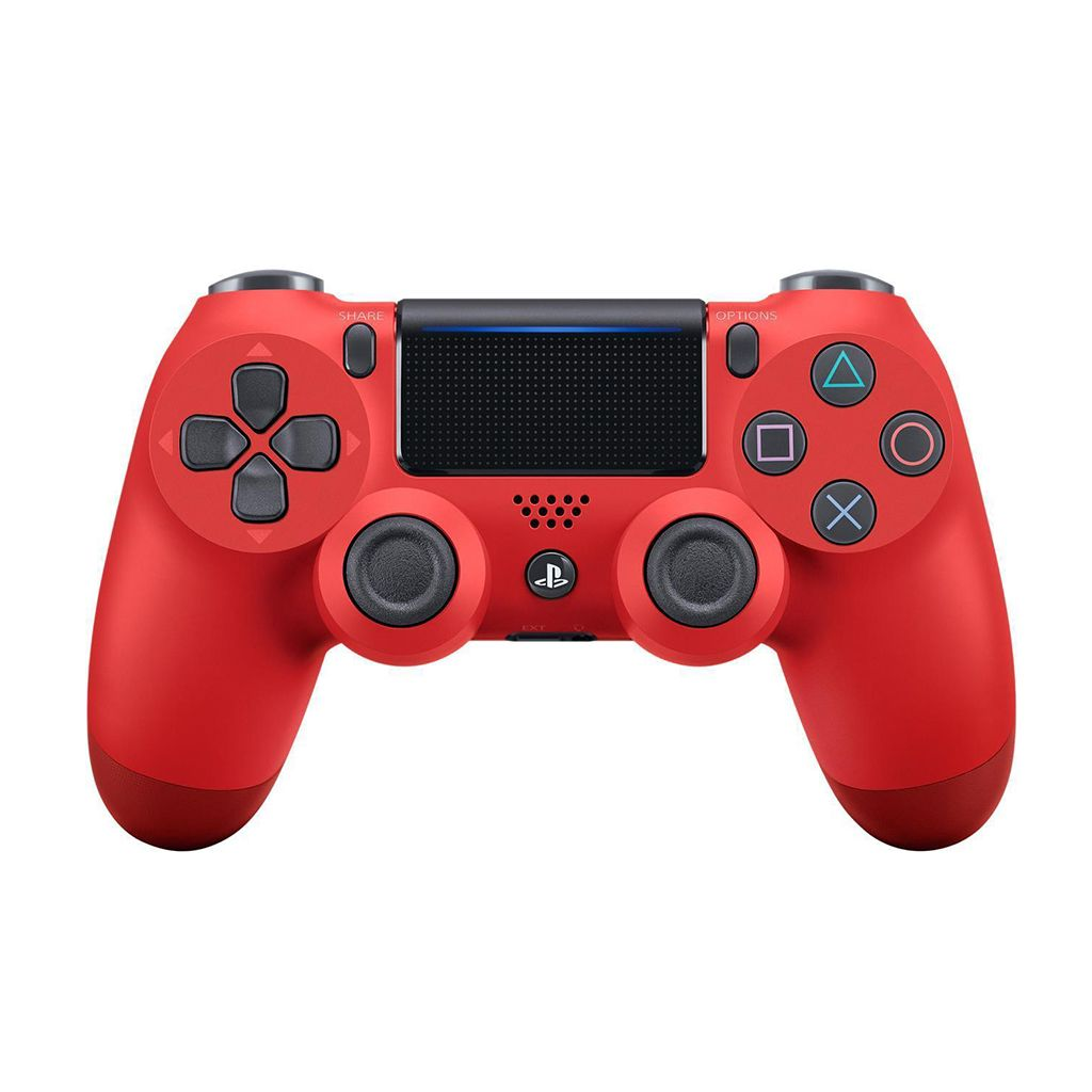 PS4 New DS4 Magma Red Wireless Controller *Asia