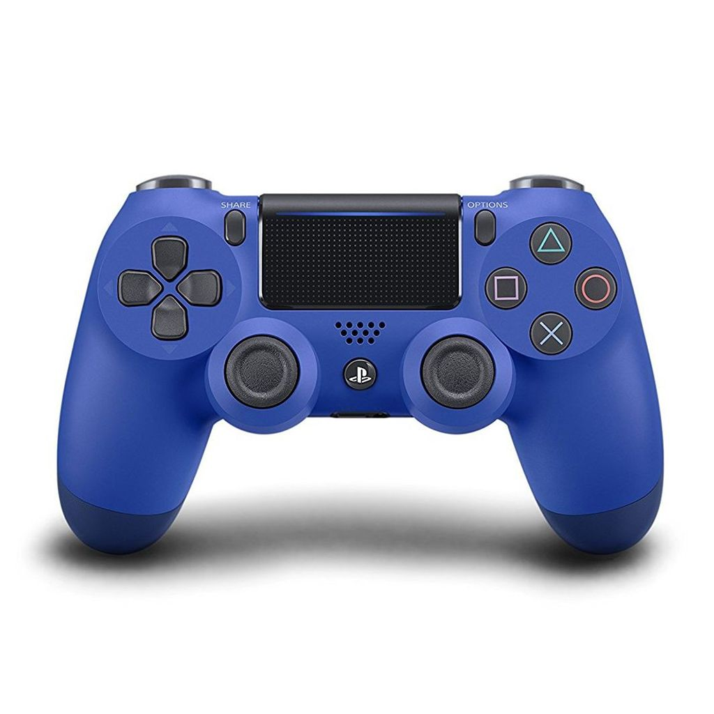 PS4 New DS4 Wave Blue Wireless Controller *Asia