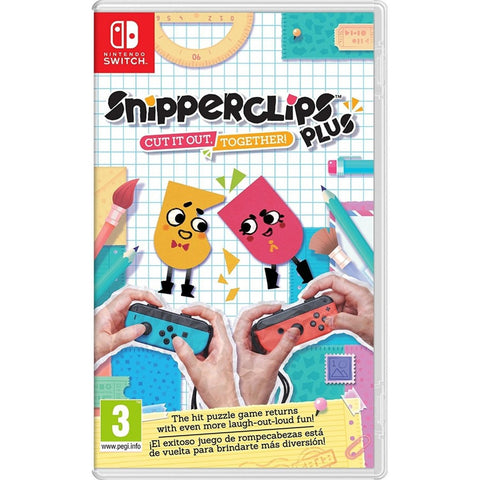 NSW Snipperclips Plus: Cut It Out, Together! *R2