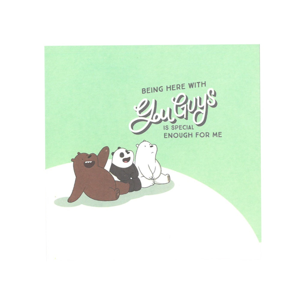 You Guys! Greeting Card - The Bare Bears