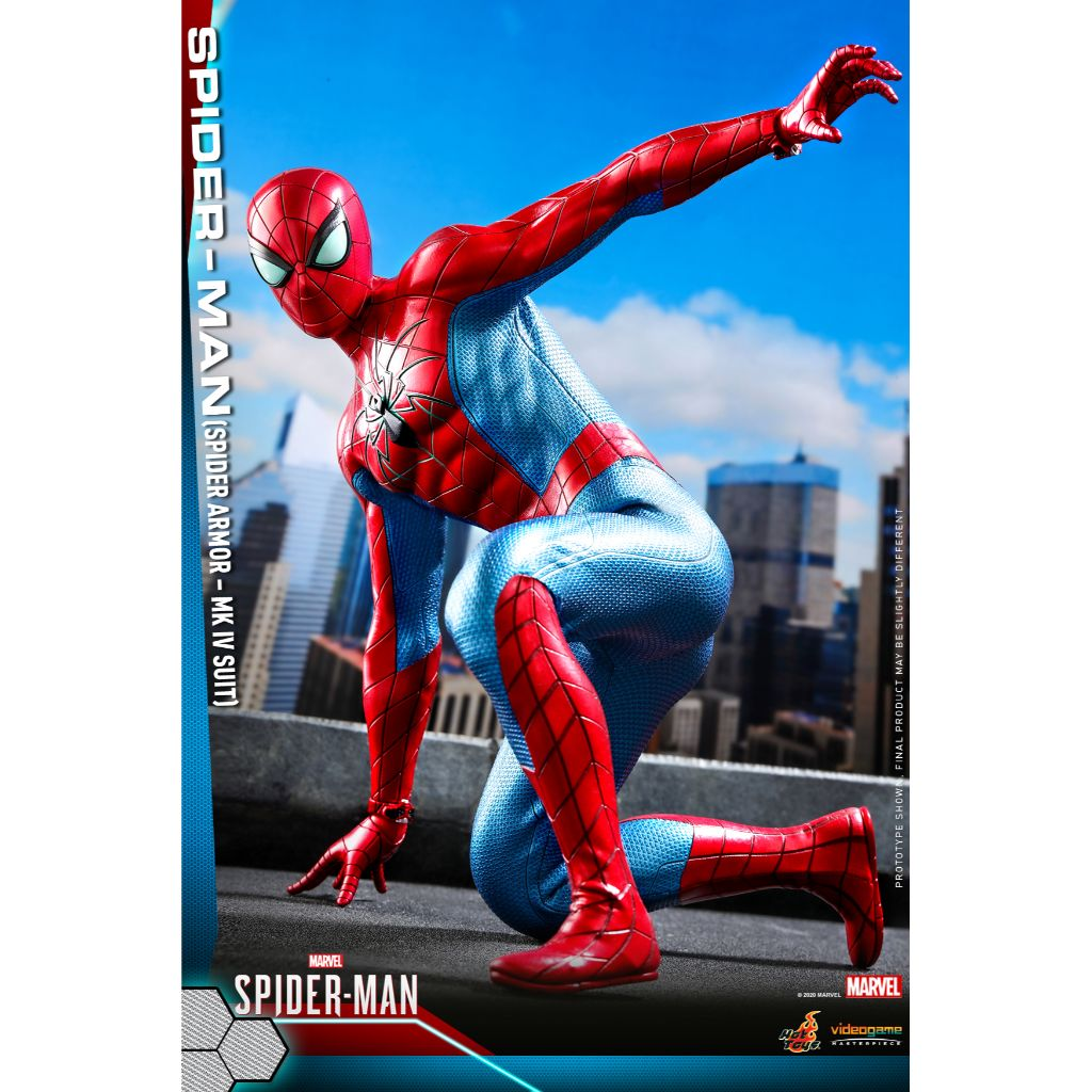 VGM43 - Marvel's Spider-Man - 1/6th scale Spider-Man (Spider Armor - MK IV Suit)