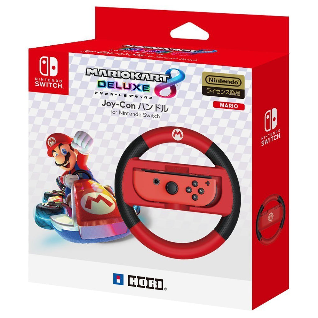 HORI Nintendo Switch Mario Kart 8 Deluxe Joy-con Handle (Mario) NSW-054