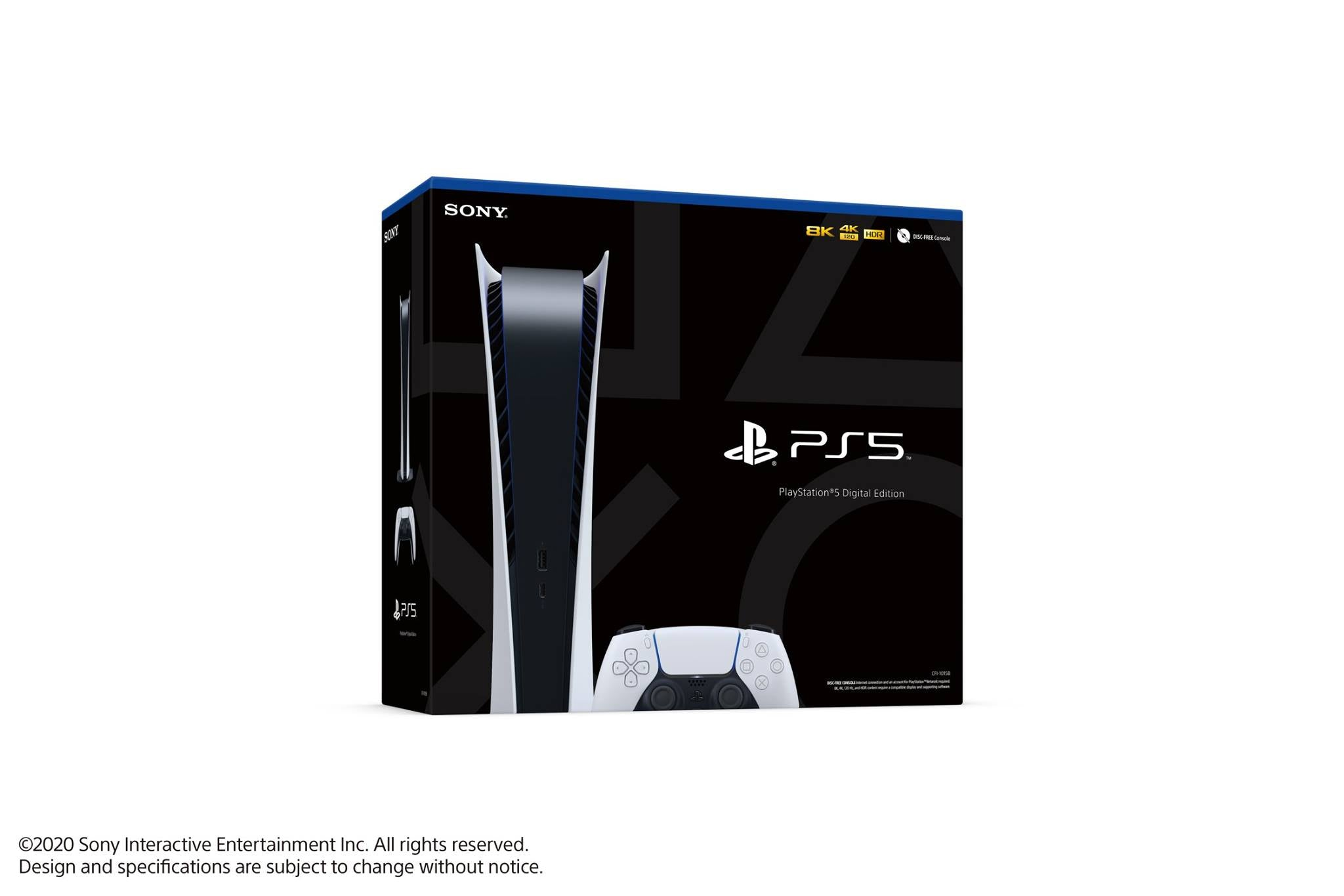 PlayStation® 5 Console - Digital Edition