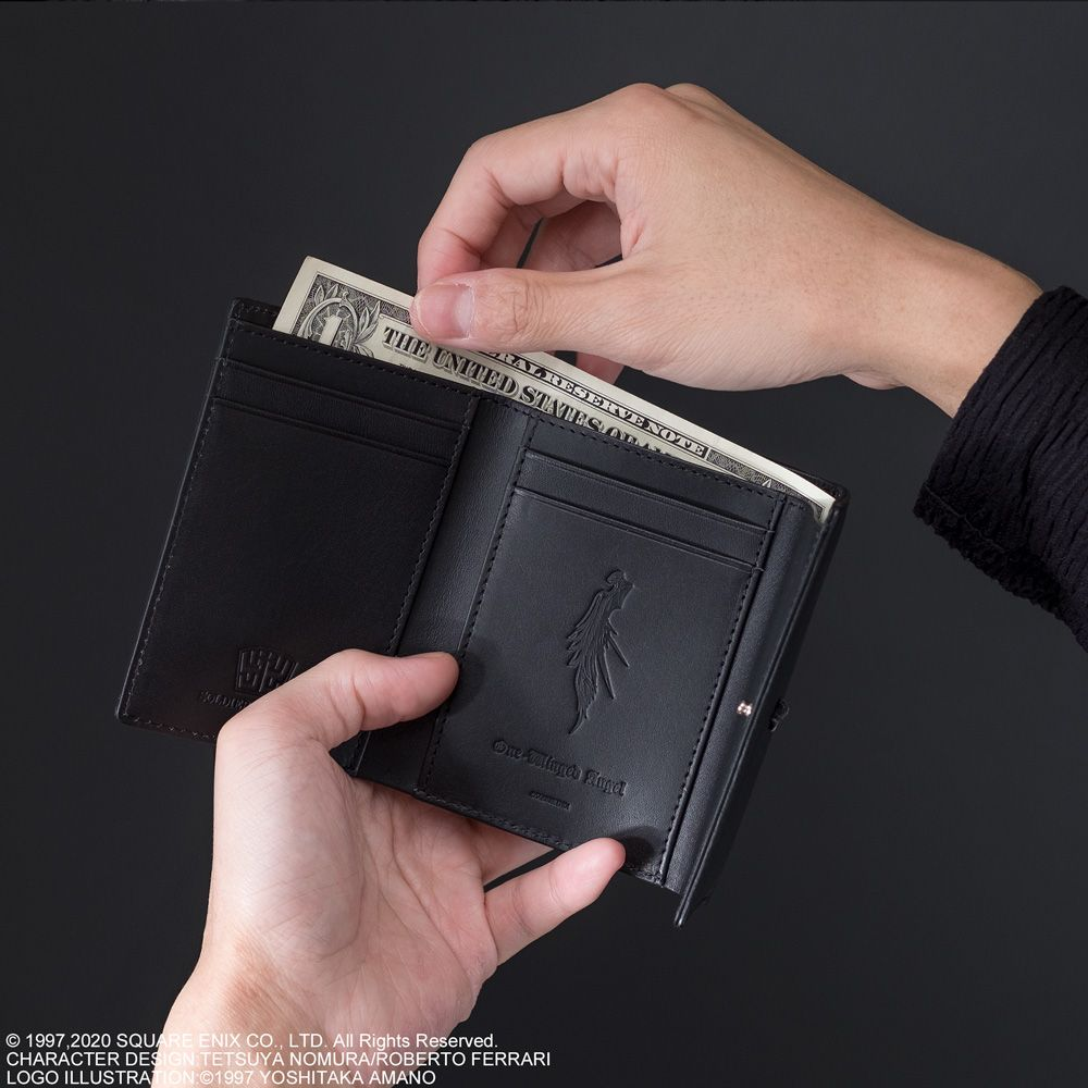FINAL FANTASY VII REMAKE Tri-fold Wallet Sephiroth