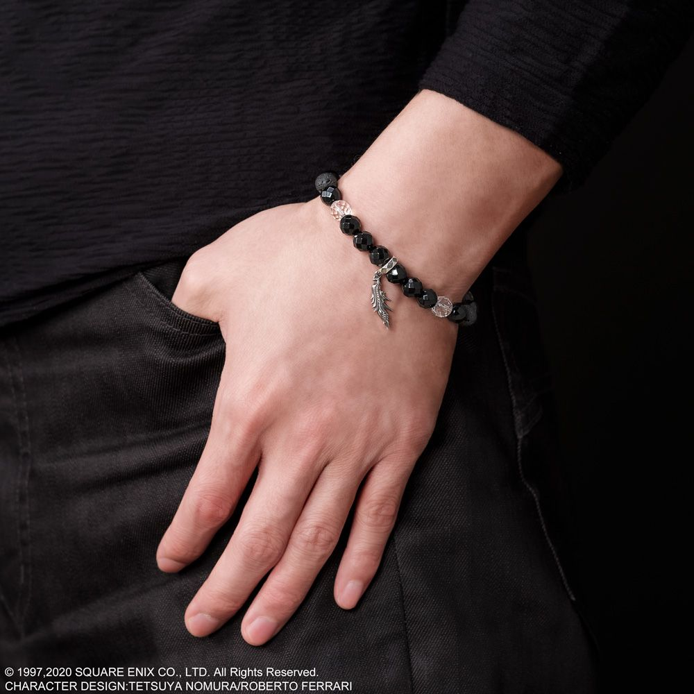 FINAL FANTASY VII REMAKE Onyx Bracelet <Sephiroth>