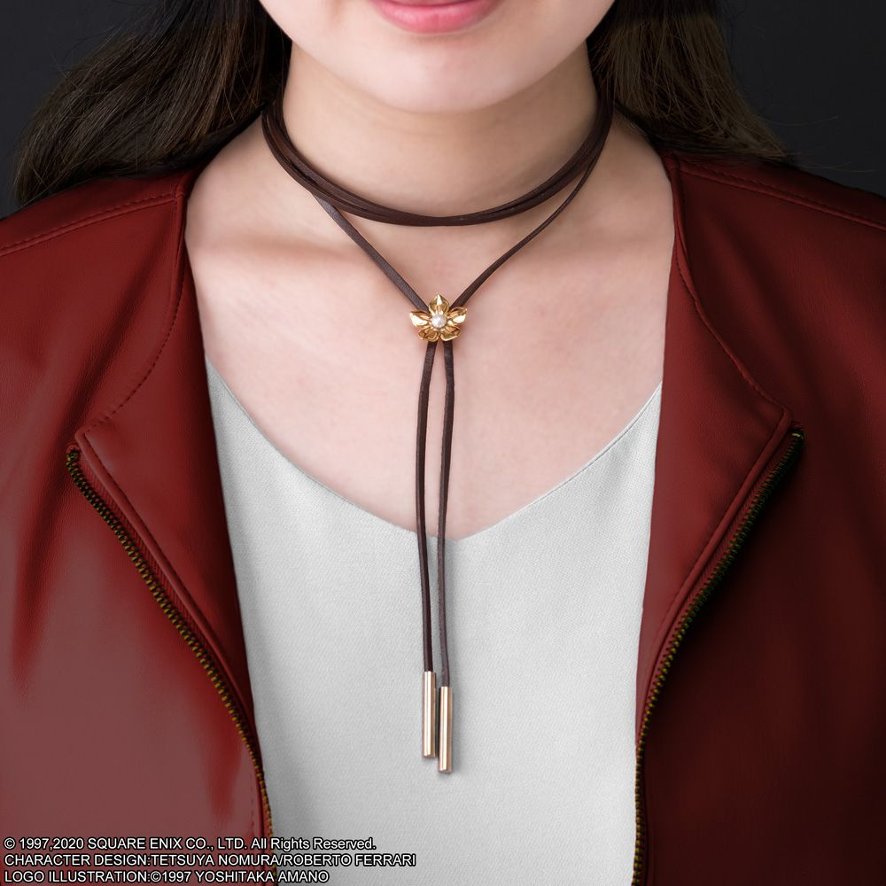 FINAL FANTASY VII REMAKE Leather Necklace Aerith