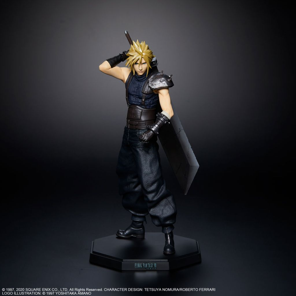 FINAL FANTASY Ⅶ REMAKE Statuette Cloud Strife