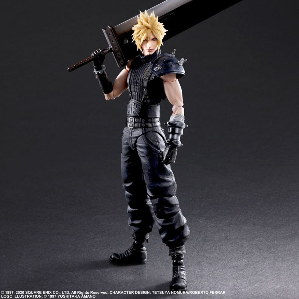 FINAL FANTASY® VII REMAKE PLAY ARTS KAI™ ACTION FIGURE CLOUD STRIFE Ver. 2