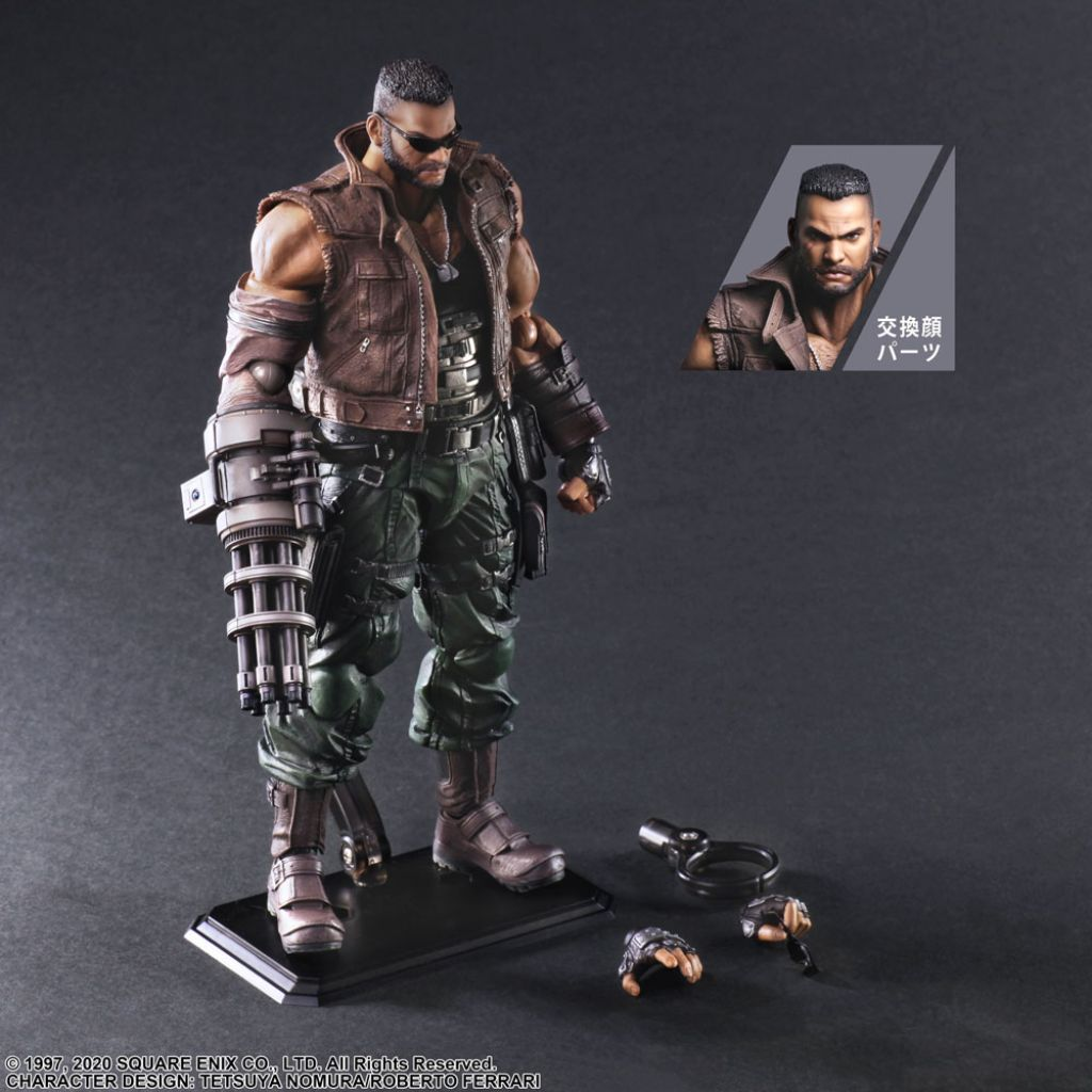 FINAL FANTASY® VII REMAKE PLAY ARTS KAI™ ACTION FIGURE BARRET WALLACE Ver. 2