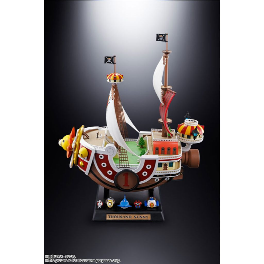 *Chogokin One Piece - Thousand Sunny (Subjected to allocation) (Limited to 1pc)