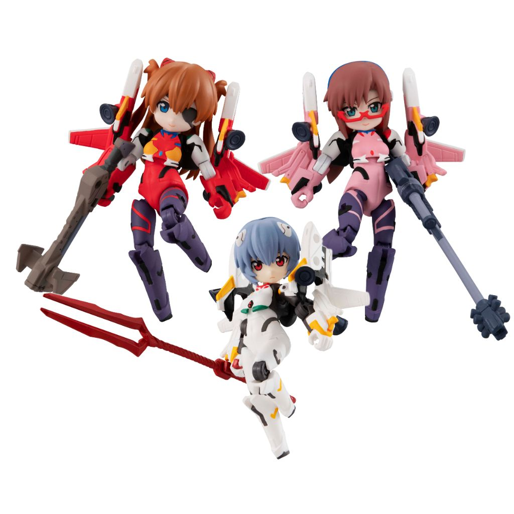 DESKTOP ARMY - EVANGELION MOVIE Ver. (box of 3)