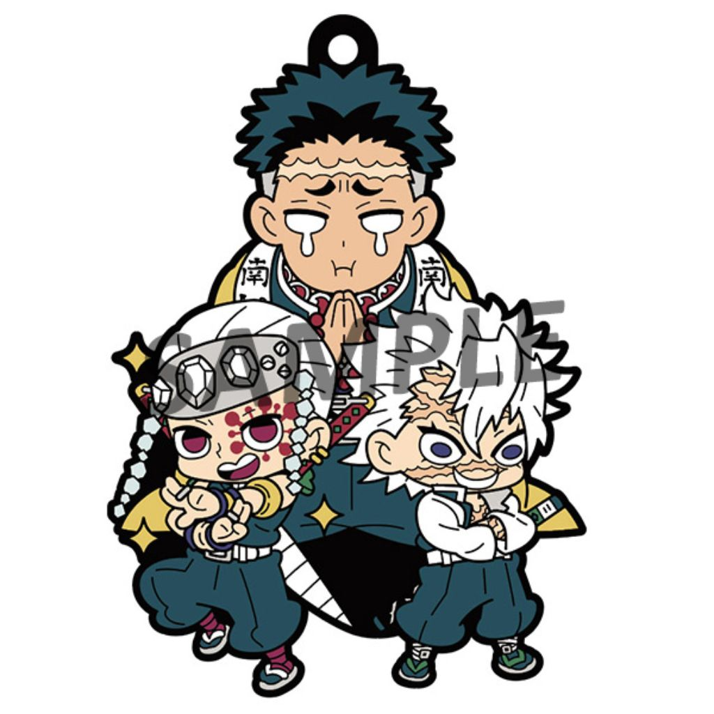 RUBBER MASCOT BUDDYCOLLE - DEMON SLAYER Vol.2 (Reissue) (box of 6)