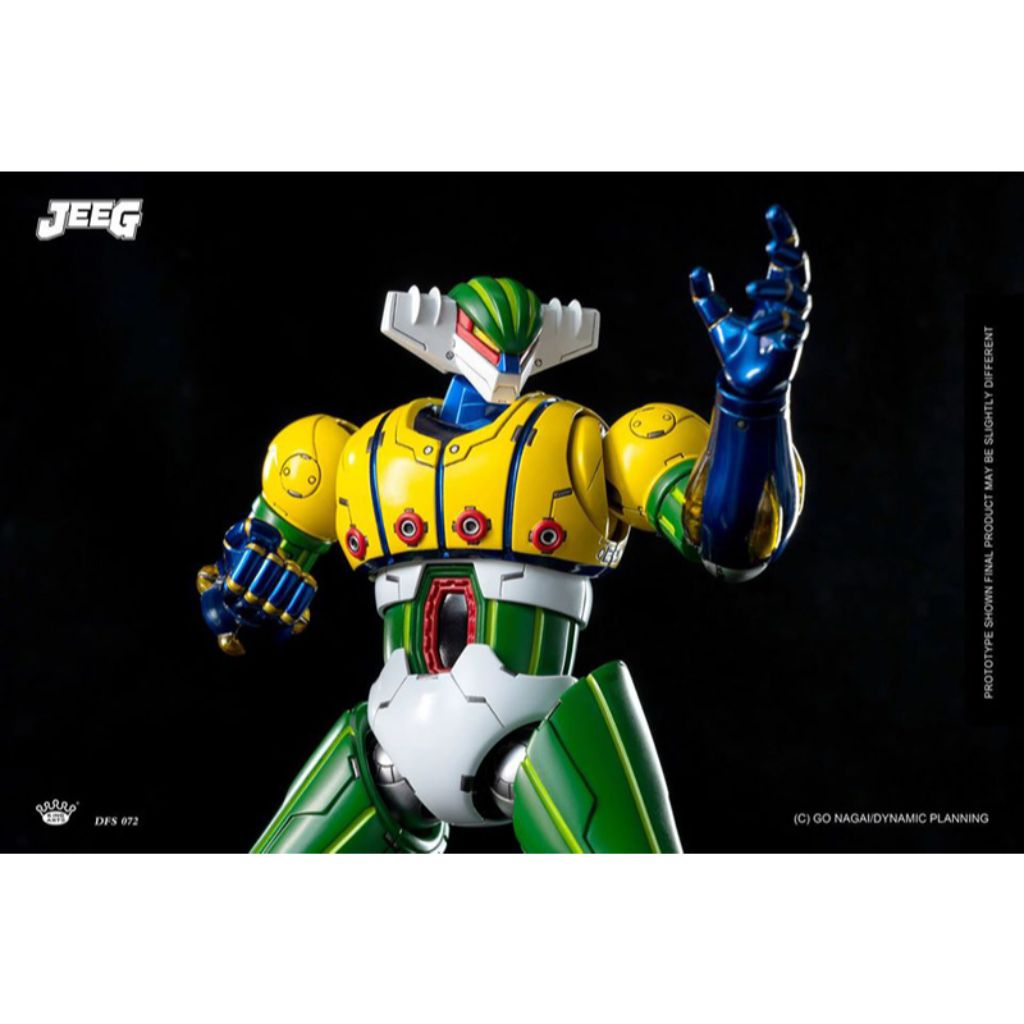 DFS072 - Dynamic Planning - Diecast Action Kotetsu Jeeg & Pantheroid