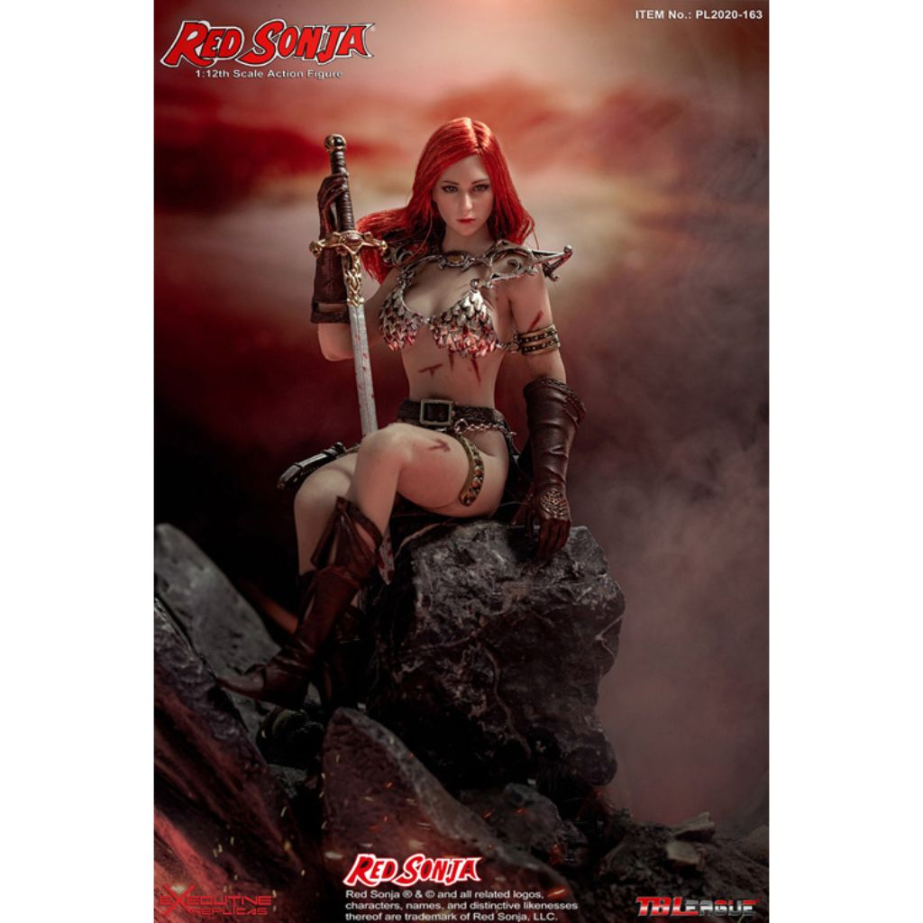 PL2020-163 - 1/12th Scale Red Sonja