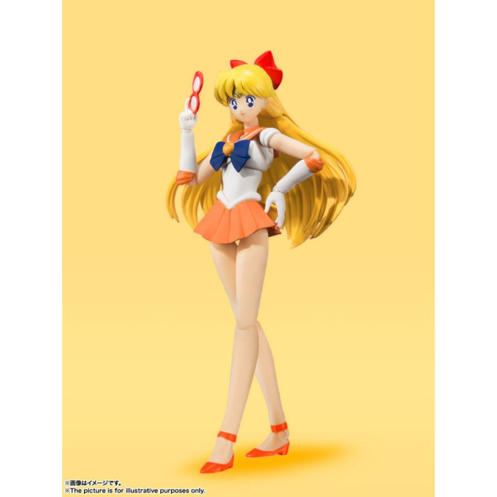 S.H.Figuarts SAILOR MOON - SAILOR VENUS -Animation Color Edition-