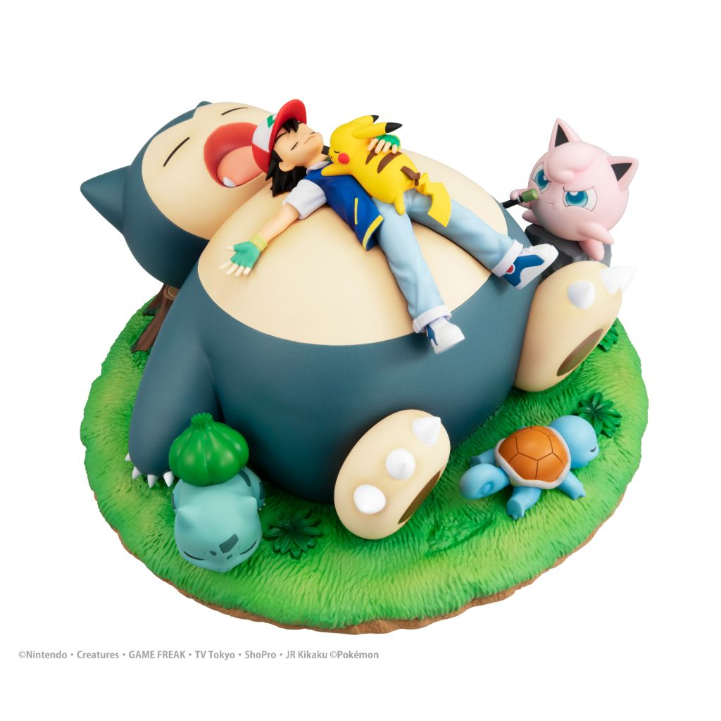 G.E.M. Pocket Monster - a nap with Snorlax
