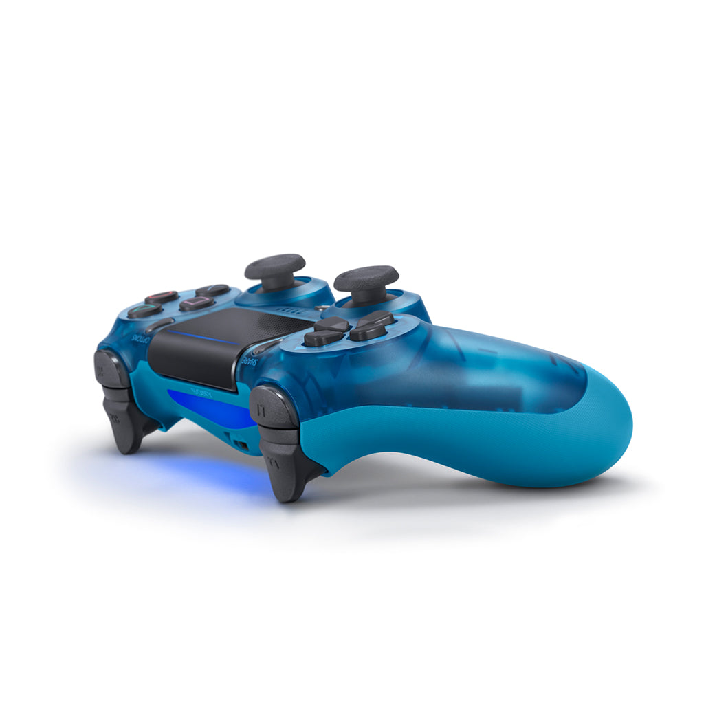 PS4 New DS4 Blue Crystal Wireless Controller *Asia