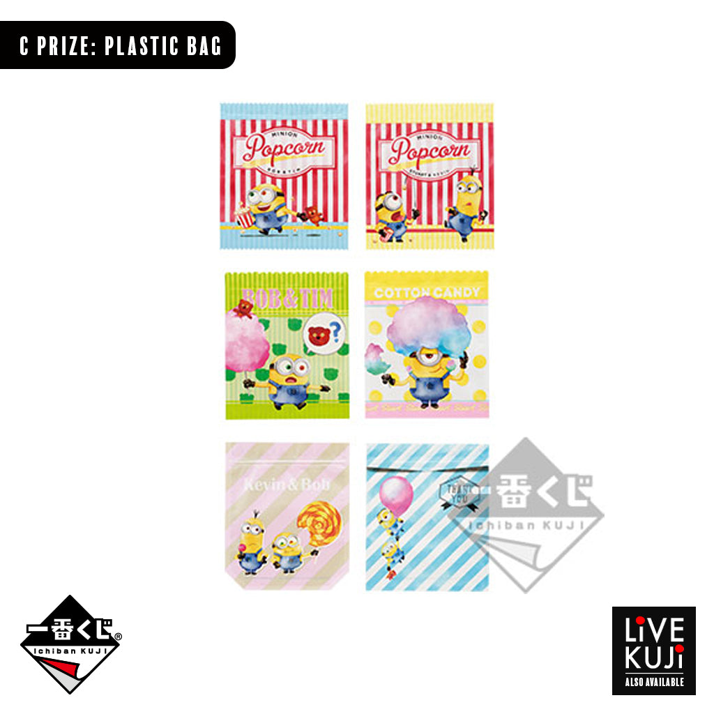 [IN-STOCK] Banpresto KUJI Despicable Me -CANDY COLOR-