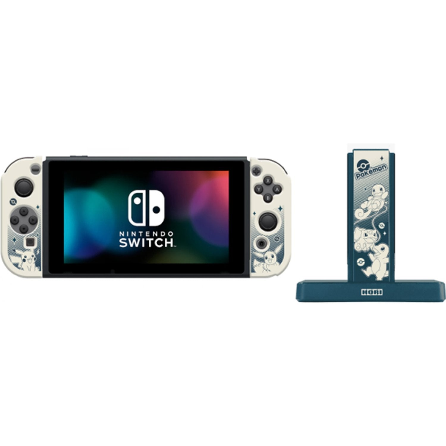 HORI Joy-Con Charging Stand + PC Cover for Nintendo Switch (AD13-001A)