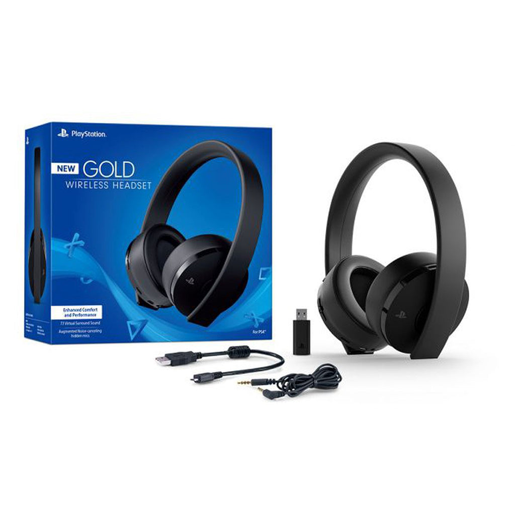 PS4 Wireless Stereo Headset 03 Black (CUHYA-0080)