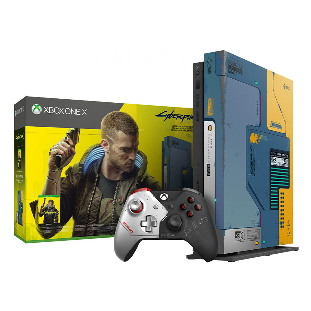 Xbox One X Cyberpunk 2077 Limited Edition Bundle (1TB)