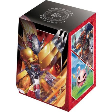 DIGIMON TCG OFFICIAL CARD CASE - WARGREYMON