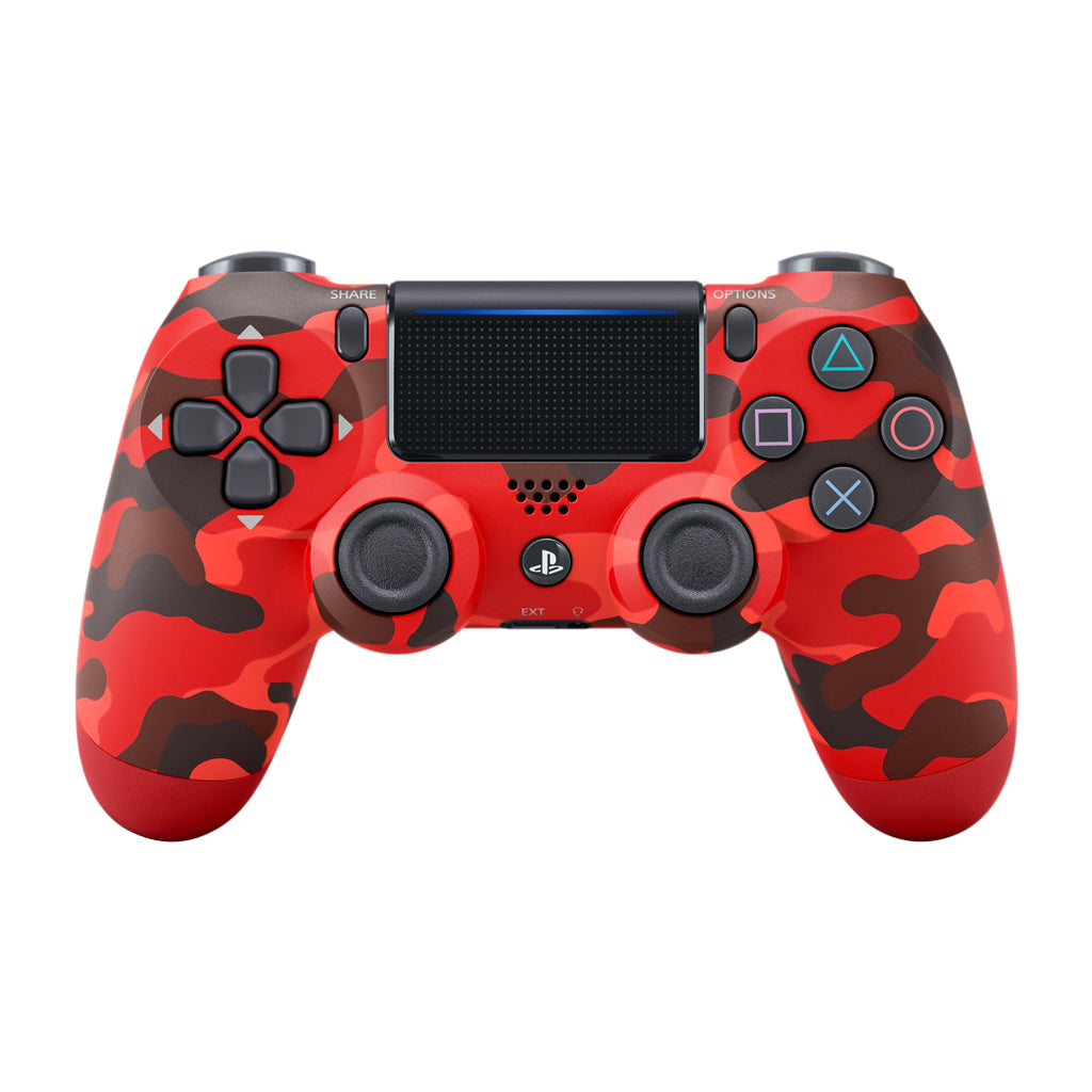 PS4 New DS4 Red Camouflage Controller *Asia