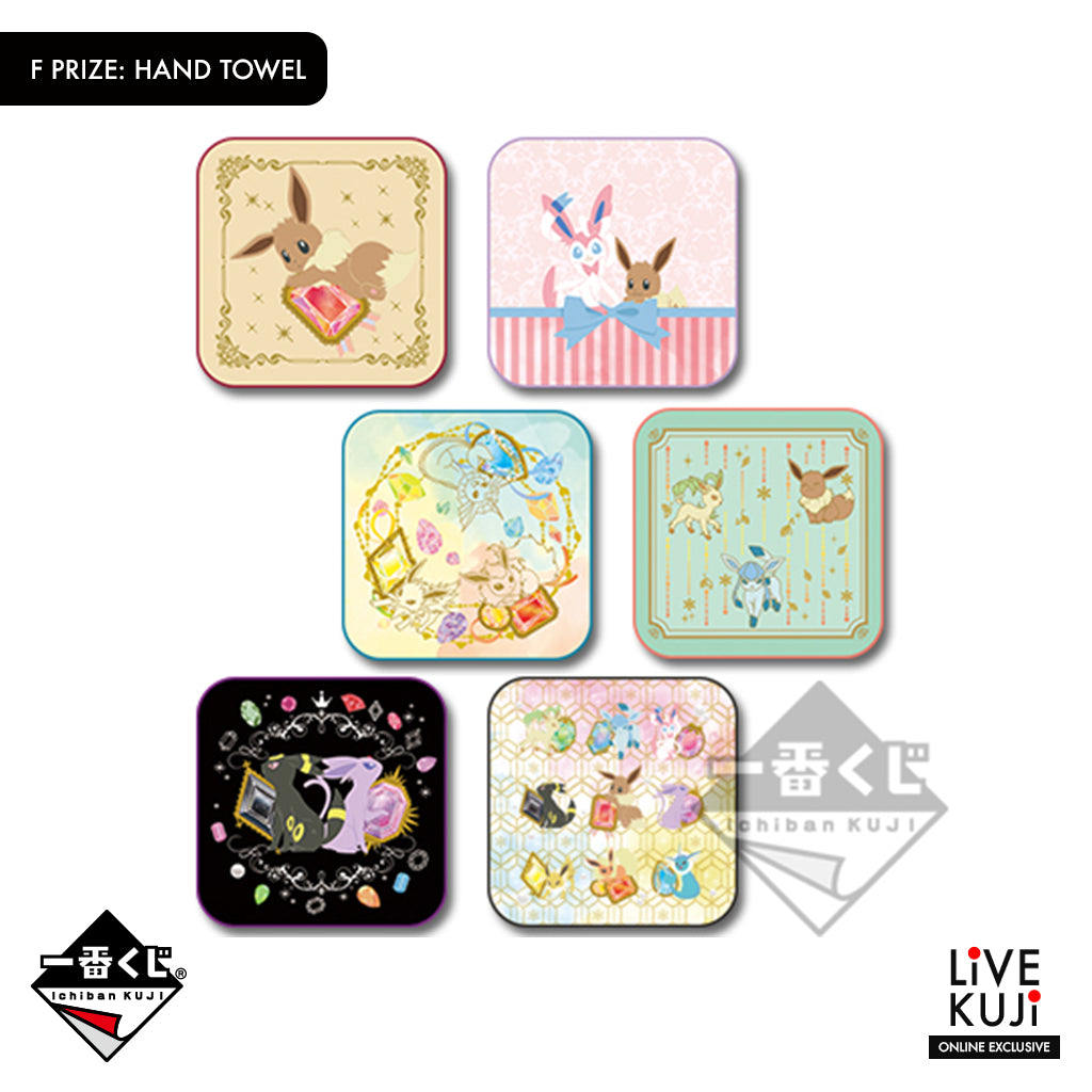 [IN-STOCK] Banpresto KUJI Pokémon EIEVUI & CRYSTAL DROPS