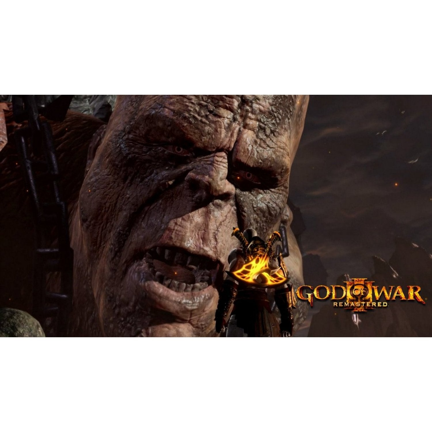 PS4 God of War III Remastered (EN Ver.) PlayStation®Hits *R3