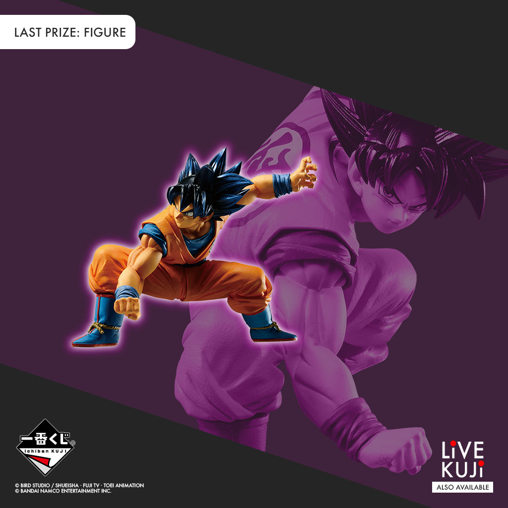[IN-STOCK] Banpresto KUJI DRAGON BALL ULTIMATE EVOLUTION With DRAGON BALL Z DOKKAN BATTLE~