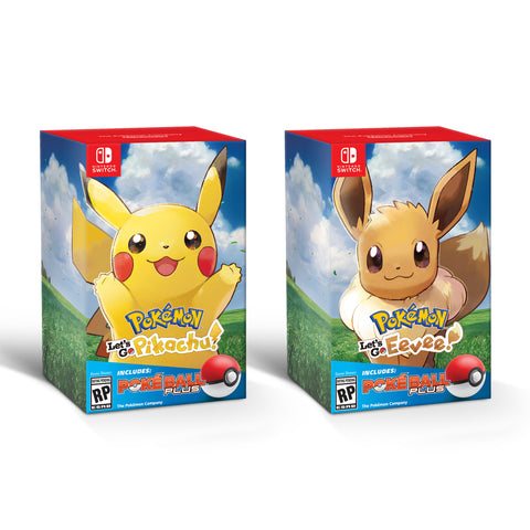 Pokémon: Let's Go! Bundles