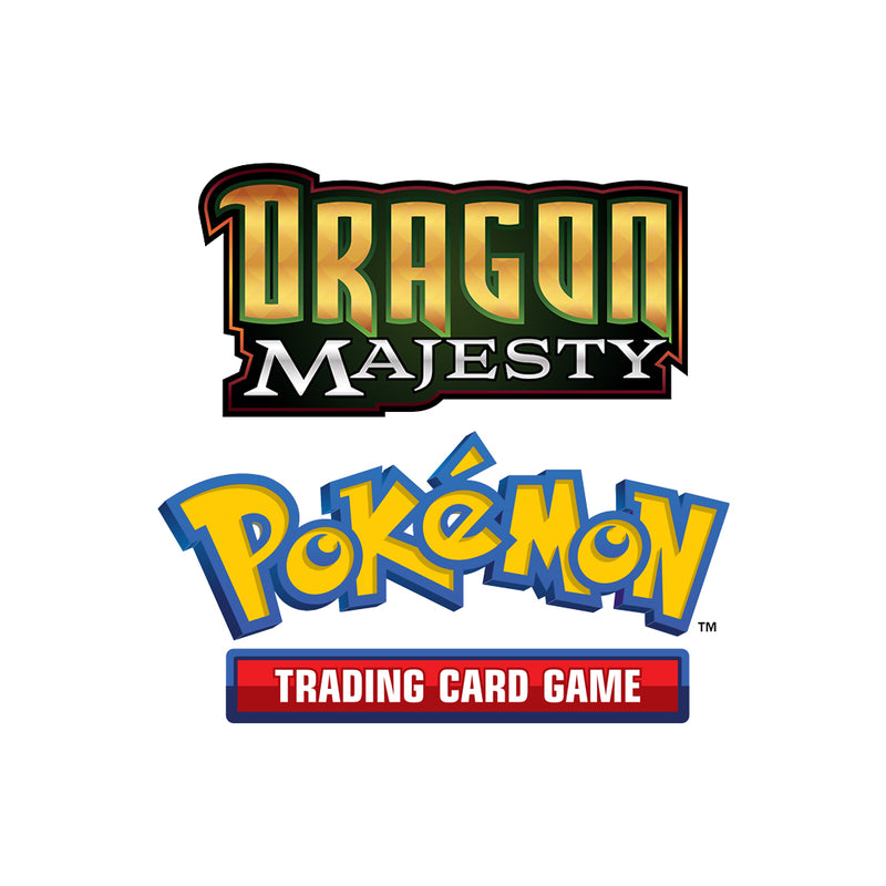 Pokémon TCG Dragon Majesty Collection Ultra Necrozma GX Box