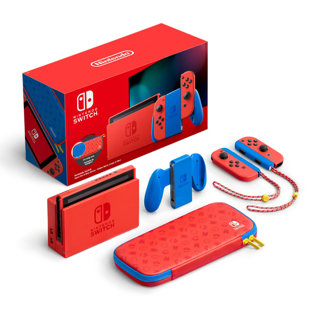 Nintendo Switch Console Mario Red & Blue Special Edition