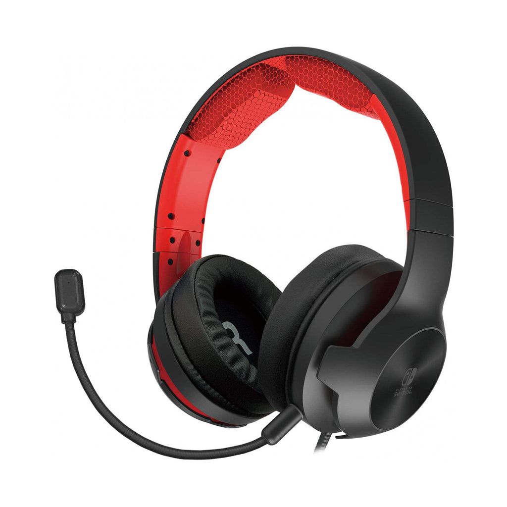 HORI Red Headset for Nintendo Switch NSW-200A