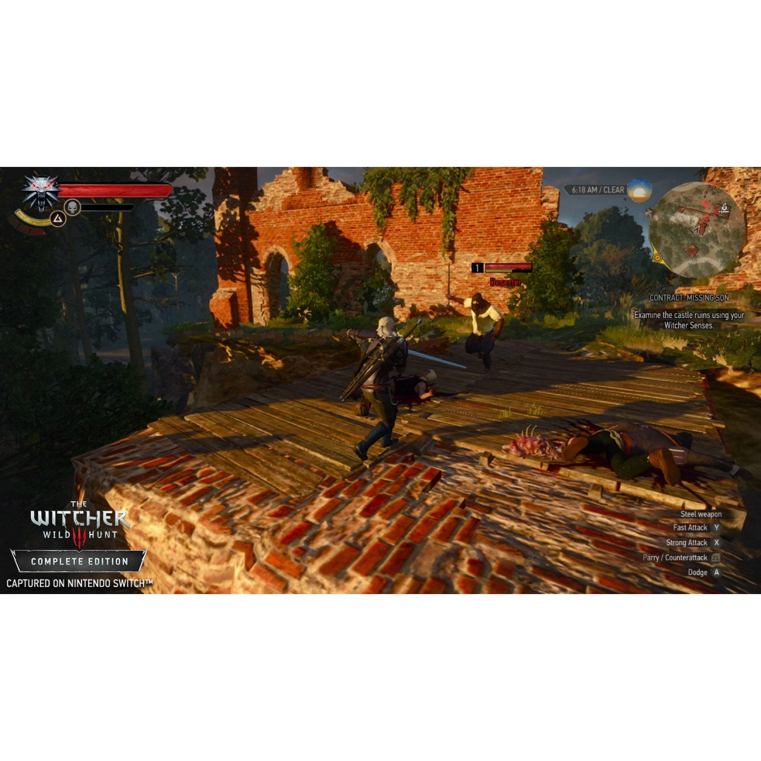 NSW The Witcher 3: Wild Hunt [Complete Edition]