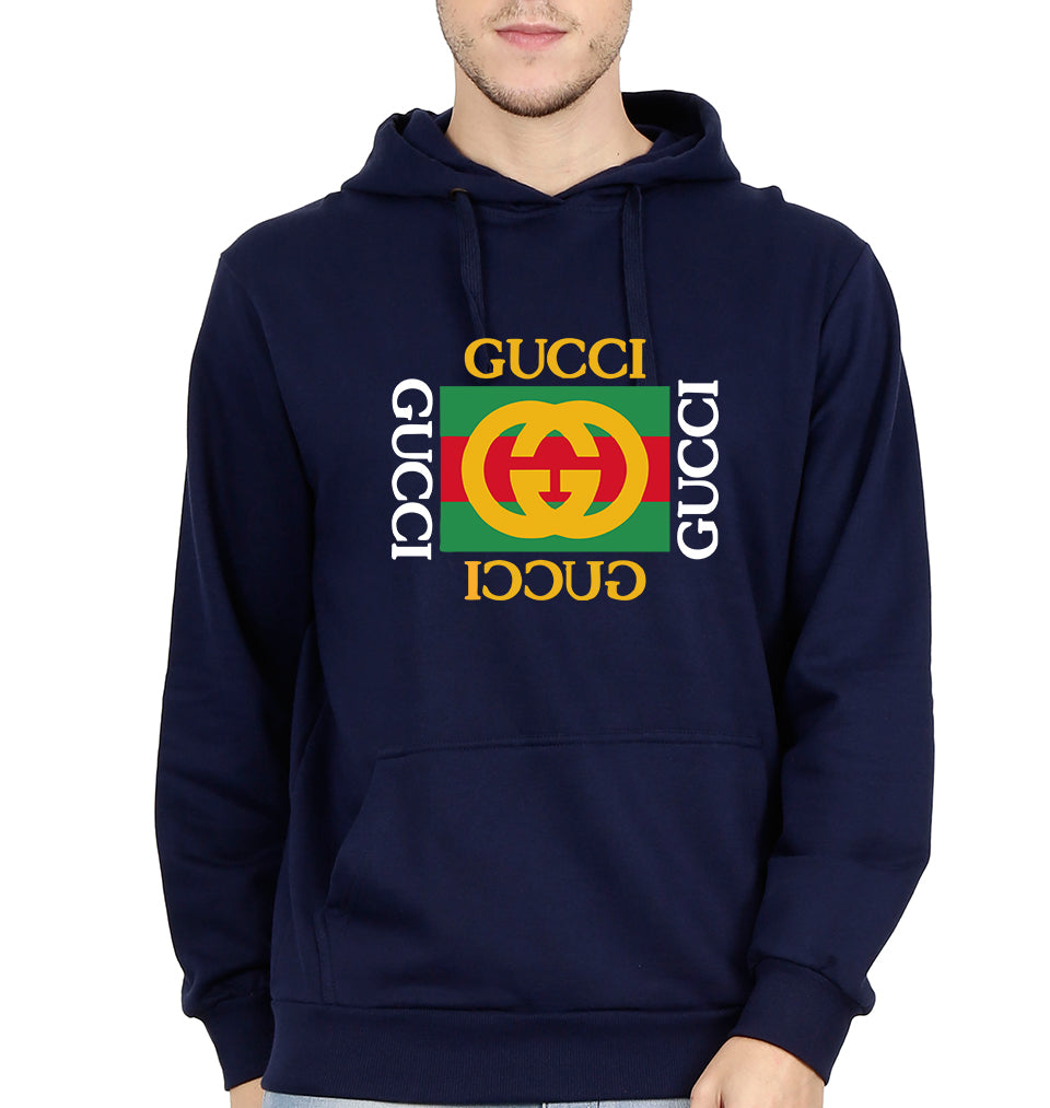 Gucci Hoodie for Men-S(40 Inches)-Navy Blue-ektarfa.com