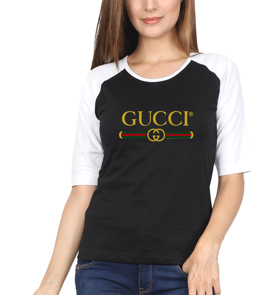 Gucci Full Sleeves Raglan T-Shirt for Women