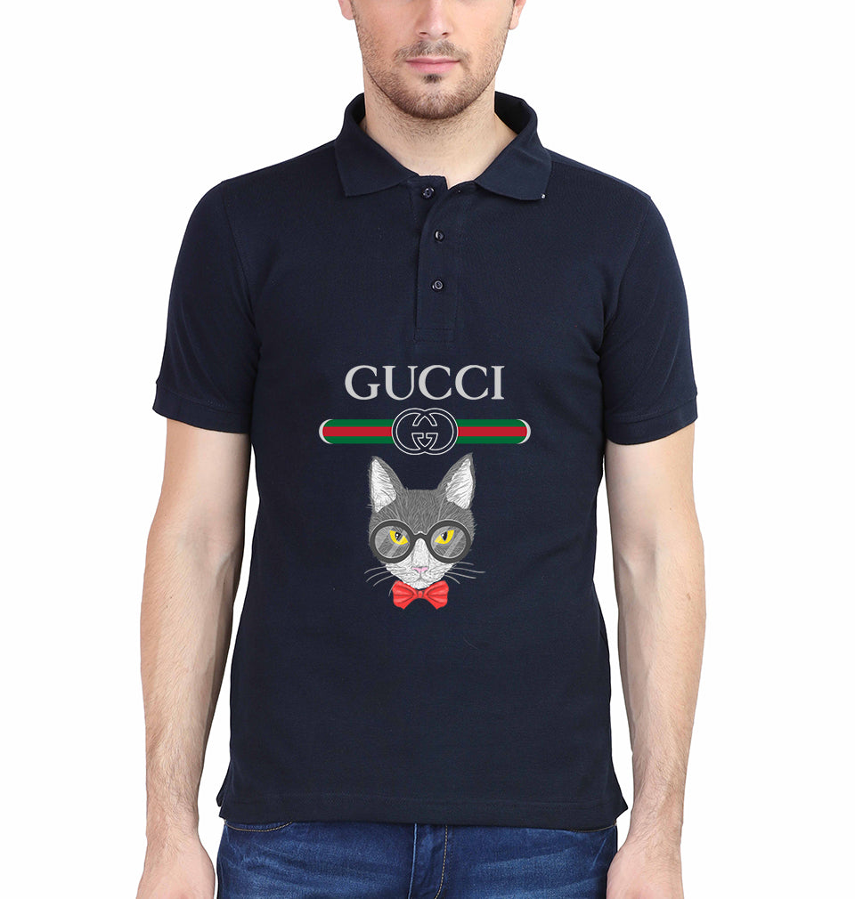 Gucci Cat Polo T-Shirt for Men